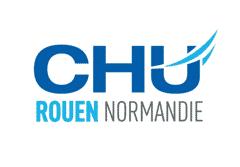 chu normandie rouen logo