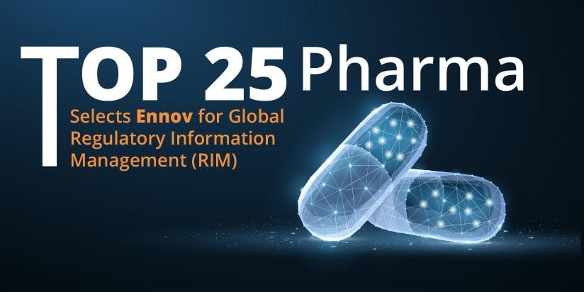 Top 25 pharma rim ennov