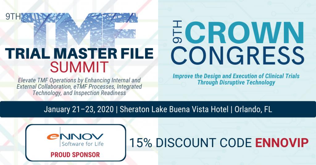 Ennov sponsors TMF Summit Orlando 2020